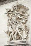 Arc de triumph detail. Details from architecture of arch triumph Stock Photography