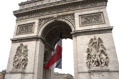 Arc de triumph detail. Details from architecture of arch triumph Stock Images