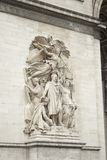 Arc de triumph detail. Details from architecture of arch triumph Stock Image