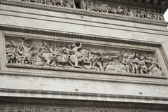 Arc de triumph detail Stock Photography