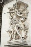 Arc de triumph detail. Details from architecture of arch triumph Royalty Free Stock Image