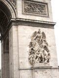 Arc de triumph detail. Details from architecture of arch triumph Royalty Free Stock Photo
