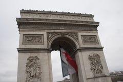 Arc de triumph detail Royalty Free Stock Images