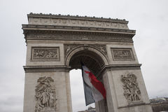 Arc de triumph detail. Details from architecture of arch triumph Royalty Free Stock Images