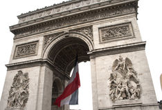 Arc de triumph detail. Details from architecture of arch triumph Royalty Free Stock Photography