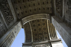 Arc de Triumph. Famous Arc de Triumph in Paris, France Royalty Free Stock Images