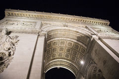 Arc de Triumph. Famous Arc de Triumph in Paris, France Royalty Free Stock Image