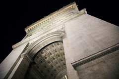 Arc de Triumph. Famous Arc de Triumph in Paris, France Stock Images
