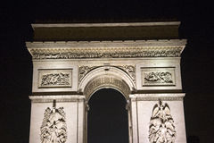 Arc de Triumph. Famous Arc de Triumph in Paris, France Royalty Free Stock Photo