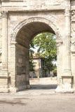 Arc de triumph in Orange city, South France Stock Images