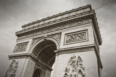 The Arc de Triumph, Paris Stock Photos