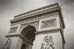 The Arc de Triumph, Paris Stock Photos