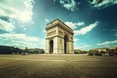 Arc de Triumph, Paris. Arc de Triumph in Paris Stock Photography