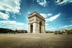 Arc de Triumph, Paris. Arc de Triumph in Paris Royalty Free Stock Photos
