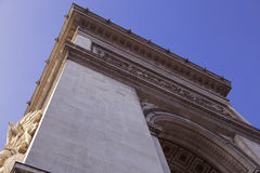 Arc de Triumph. In Paris Royalty Free Stock Photography