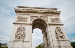 Arc de Triumph in Paris. France Stock Photo