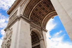 Arc de Triumph, Paris. The famous Arc de Triumph, Paris Stock Photo