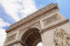 Arc de Triumph, Paris. The famous Arc de Triumph in Paris Stock Images