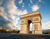 Arc de Triumph. In Paris, France Stock Photography