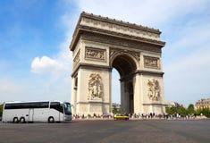 Arc de Triumph, Paris. France Stock Photography