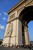 Arc de Triumph in Paris Royalty Free Stock Image