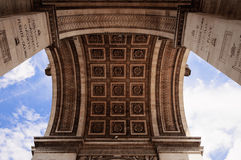 Arc de Triumph, Paris. France Royalty Free Stock Photo