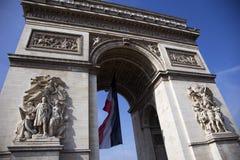 Arc de Triumph. Arc de Triumph in Paris, France Royalty Free Stock Image