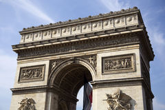 Arc de Triumph. In Paris, France Stock Photo