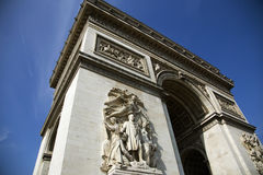 Arc de Triumph. In Paris, France Royalty Free Stock Photo