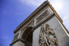 Arc de Triumph. Arc de Triumph in Paris, France Royalty Free Stock Photos