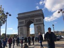 Arc de triumph a Paris. Arc de Ztriumph a Paris France Stock Photo