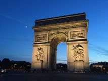 Arc de Triumph Royalty Free Stock Photography
