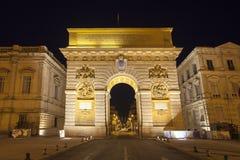 Arc de Triumphe, Μονπελιέ Στοκ εικόνες με δικαίωμα ελεύθερης χρήσης