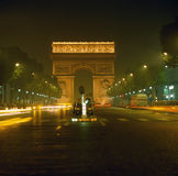 Arc de Triumphe. In Paris, France Royalty Free Stock Photo