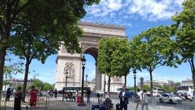 Arc de Triumphe. It& x27;s arc de Triumphe Royalty Free Stock Image