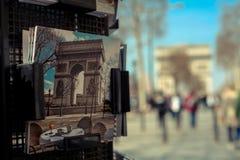 Arc de triunph. Paris the D Arc de triunph Royalty Free Stock Images