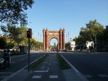 Arc del triomf barcelona. Royalty Free Stock Image
