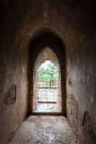 Arc door temples in Bagan, Myanmar Royalty Free Stock Photos