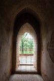 Arc door temples in Bagan, Myanmar Stock Photos