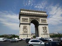 Arc du Triumph 库存图片
