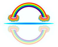 Arc-en-ciel coloré Photos libres de droits