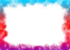 Arc-en-ciel coloré autour du périmètre Images libres de droits