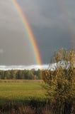 Arc-en-ciel d'automne Photo libre de droits