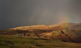 Arc-en-ciel d'Eskdale, Cumbria Image libre de droits