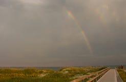Arc-en-ciel d'Ocracoke Photographie stock