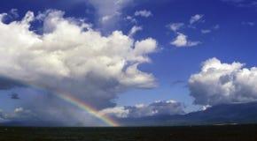 Arc-en-ciel de l'Indonésie photographie stock