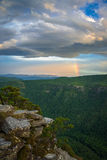 Arc-en-ciel de Linville Images stock