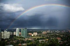 Arc-en-ciel de Mississauga Image libre de droits