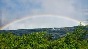 Arc-en-ciel de Niagara Falls Photo libre de droits