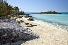arc-en-ciel de plage de compartiment scénique photos libres de droits